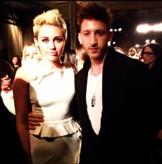 Marchesa Fashion Show with Miley Cyrus